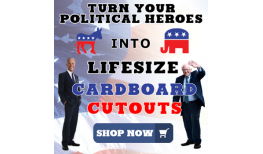 Political Favorites As Life Size Cardboard Cutouts