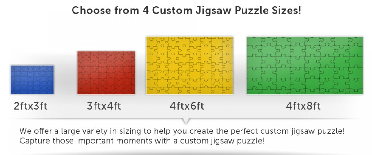 4 Puzzle Sizes