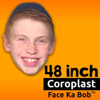"48"" Custom Coroplast Big Head Cutouts - $49.99"