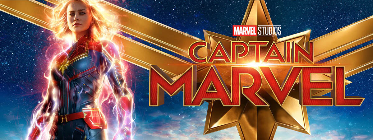 Captain Marvel Cardboard Cutouts
