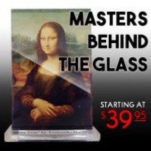 Masters Behind The Glass Acrylic Art Prints