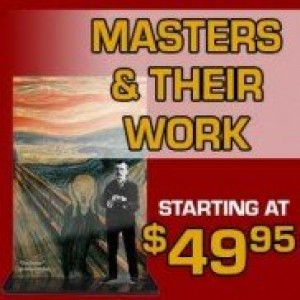 Masters And Their Work Acrylic Art Prints