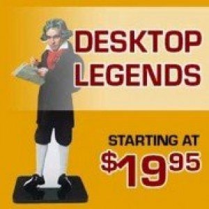 Desk Top Legends Acrylic Cutouts