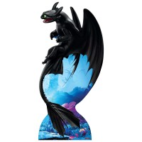 SC1300 Toothless Night Fury Cardboard Cutout Standee HTTYD