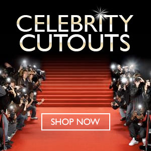 Celebrity Standees cutouts