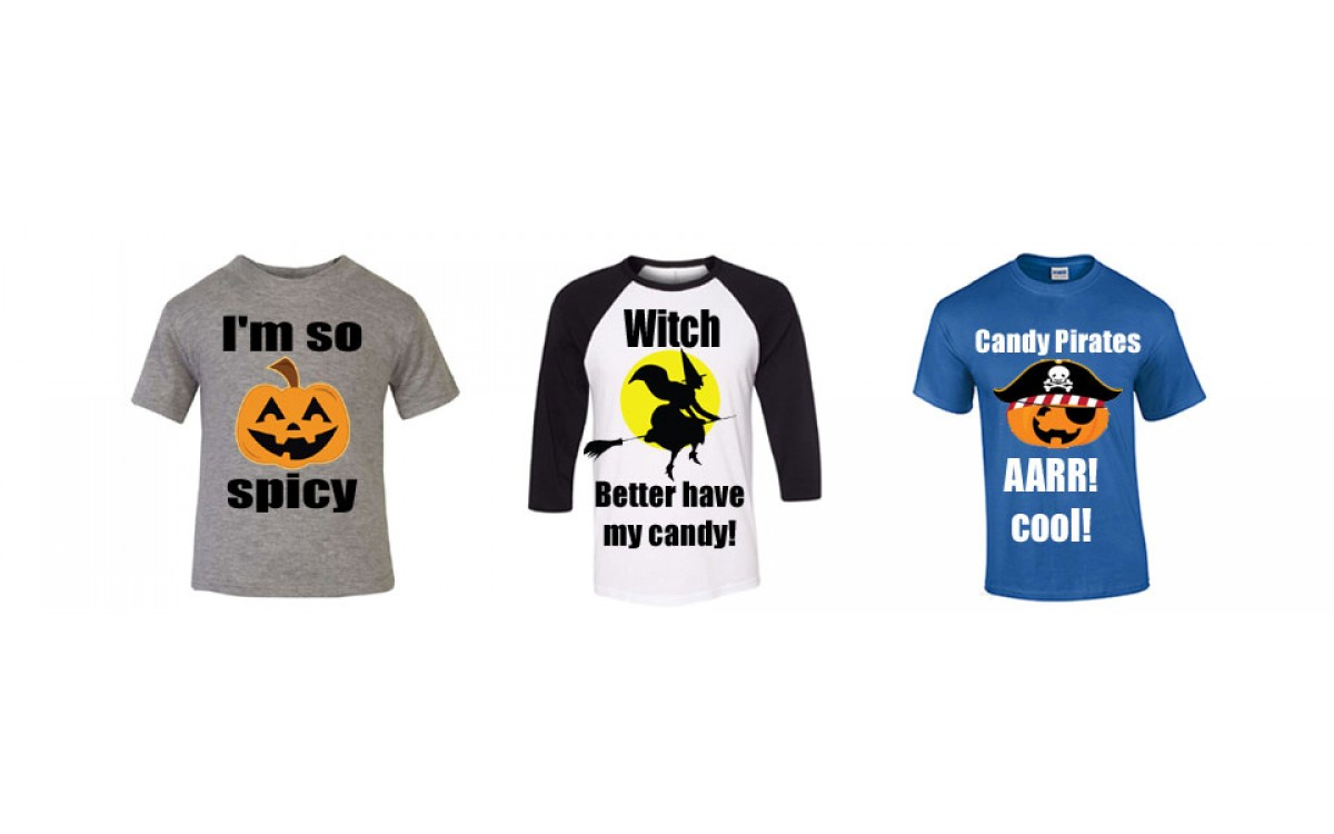 It's time to get your spooky on this Halloween with a Custom Shirt