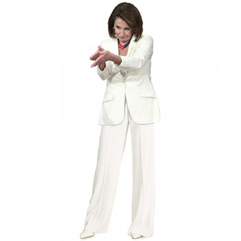 Nancy Pelosi Clapping Cardboard Cutout