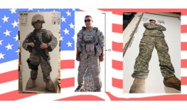 Honor your favorite armed forces member with a Life Size Custom Cutout