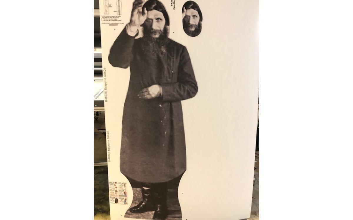 Rasputin Cutout
