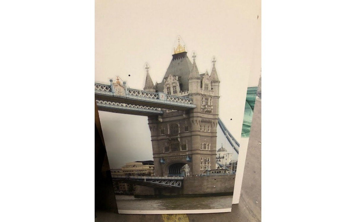 London Bridge Cutout