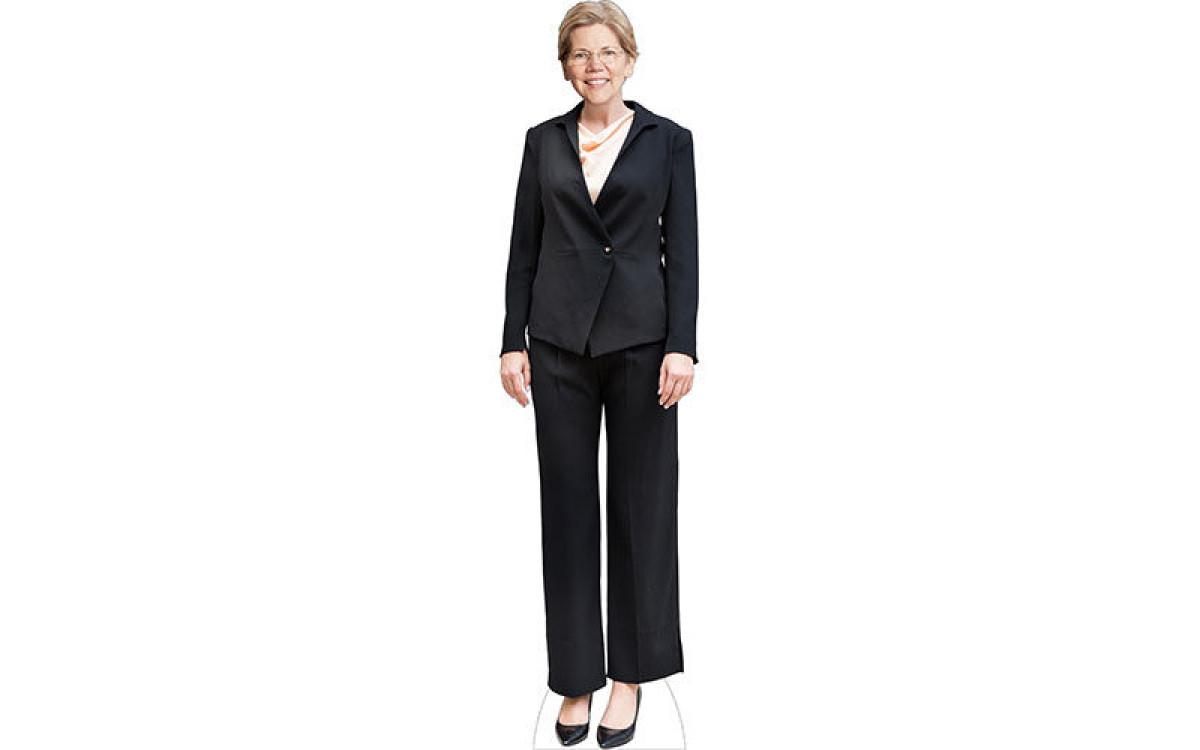 Elizabeth Warren Cutout