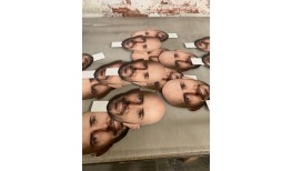 Big Heads Cut Outs