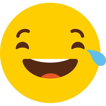 Cry Laughing Emoji