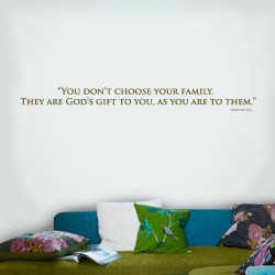 You Dont Choose Wall Decal