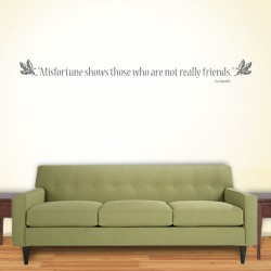 Misfortune Shows Wall Decal