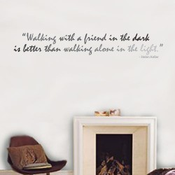 Walking With Wall Decal
