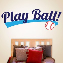 Play Ball Wall Decal