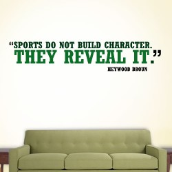 Sports Character Wall Decal