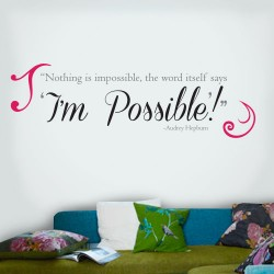 Im Possible Wall Decal