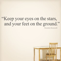 Keep Your Eyes Wall Decal
