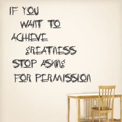 Achieve Greatness Wall Decal