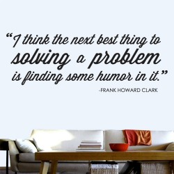 Solving A Problem Wall Decal