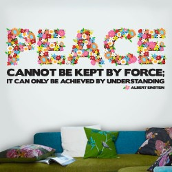 Peace Understanding Wall Decal