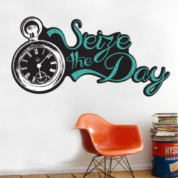 Seize The Day Wall Decal