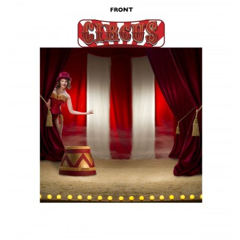 Circus Backdrop & Circus Header - $69.99