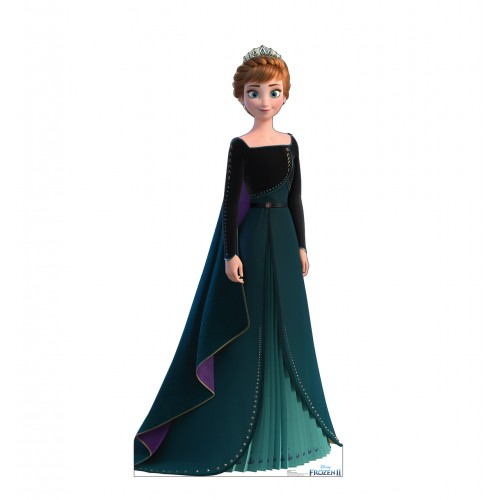 Anna - Dark Green Gown (Frozen 2 Epilogue)