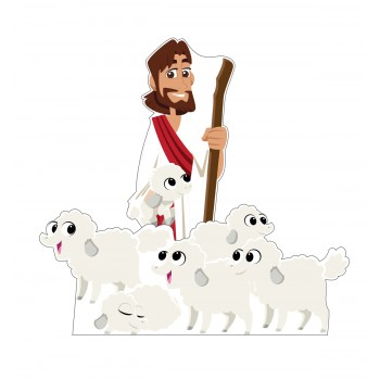 The Good Shepard Standee Set (Creative for Kids) - $64.99