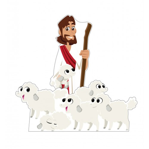 The Good Shepard Standee Set (Creative for Kids)