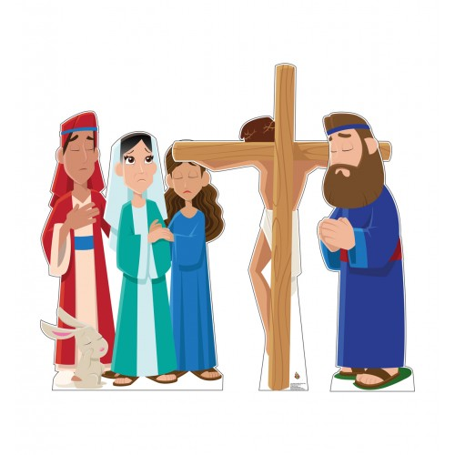 Jesus on the Cross Set (Creative for Kids)