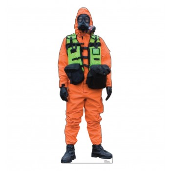 Hazmat Guy - Orange Suit - $39.95
