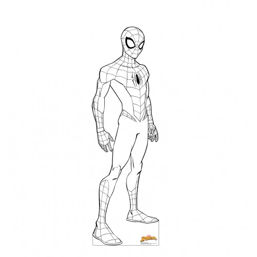 Color Me Spider-Man (Marvel)