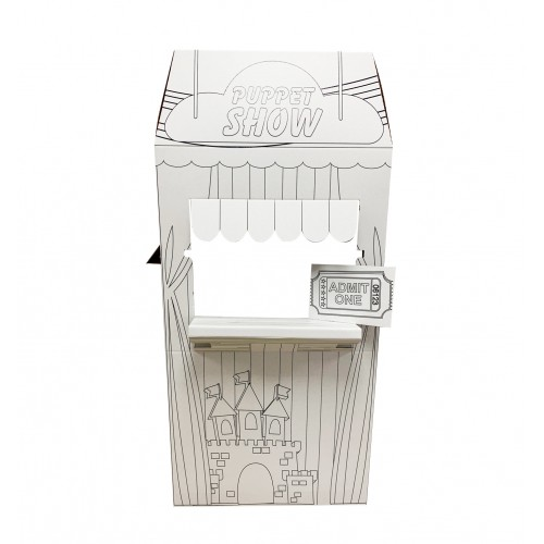 Color Me Puppet Show Stand
