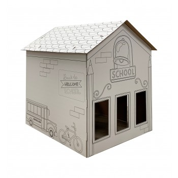 Color Me School House - $44.95