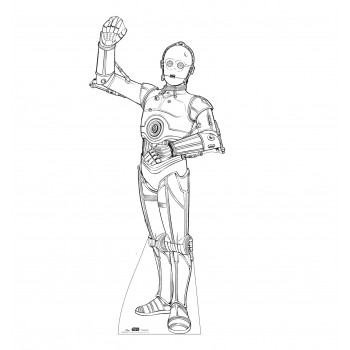 Color Me C-3PO (Star Wars) - $39.95