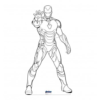 Color Me Iron Man (Avengers Endgame) - $39.95