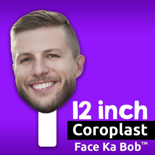 "12"" Custom Coroplast Big Head Cutouts"