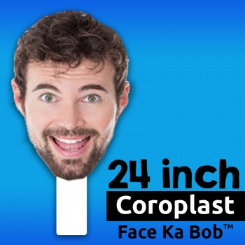"24"" Custom Coroplast Big Head Cutouts - $29.99"