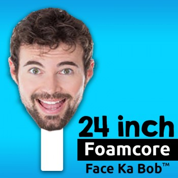 "24"" Custom Foamcore Big Head Cutouts - $29.99"