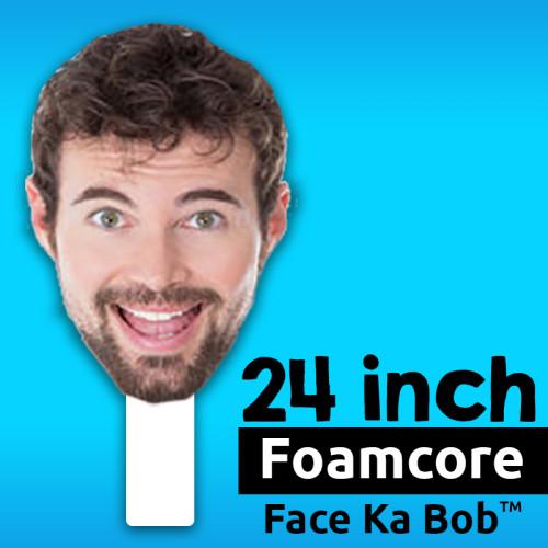 "24"" Custom Foamcore Big Head Cutouts"