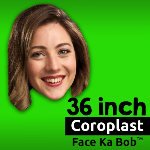 "36"" Custom Coroplast Big Head Cutouts"