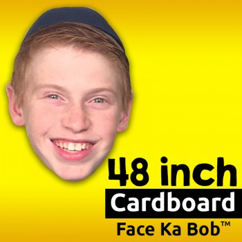 "48"" Custom Cardboard Big Head Cutouts"