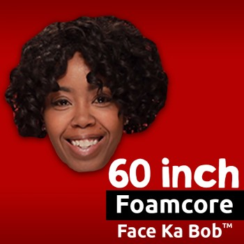 "60"" Custom Foamcore Big Head Cutouts"