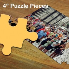 "Custom Jigsaw Puzzle - 4"" Pieces"