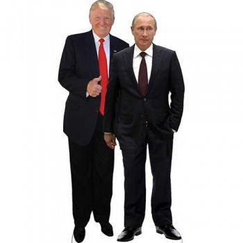 Trump and Putin Cardboard Cutout - $0.00