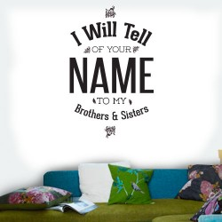 Psalm 22 Wall Decal