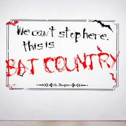 Bat Country Wall Decal